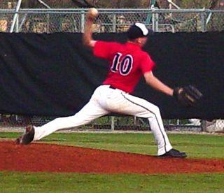 Brady Moss pitching - Franklin Coweb