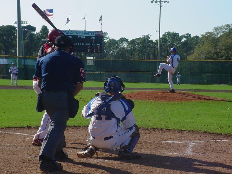 Daryl Norris pitching 2009-1